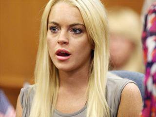 Lindsay Lohan曾被枪指着头 差点死于非命