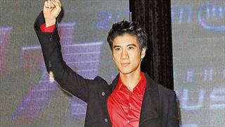 王力宏全球首位华人代言intel