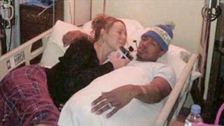 丈夫肾衰竭入院 Mariah Carey晒合照祈祷