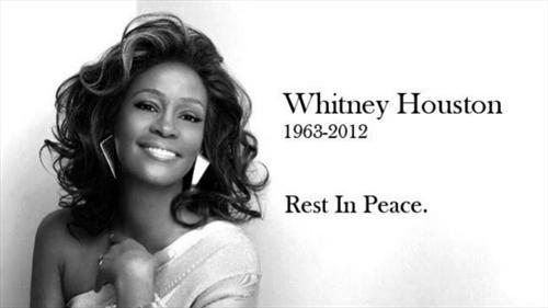 全球众星哀悼Whitney Houston