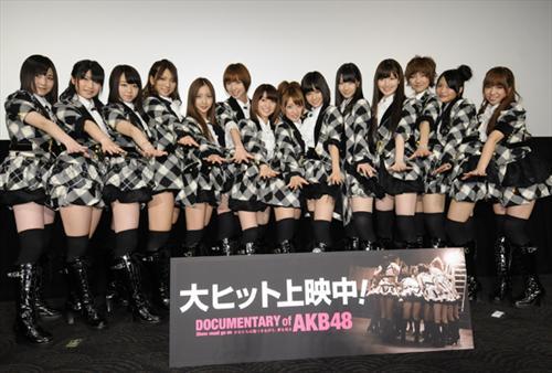 AKB48纪录电影5月台湾上映