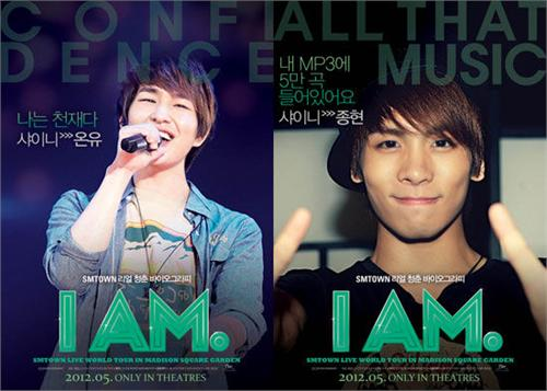 SHINee纪录片《I AM》宣传海报曝光