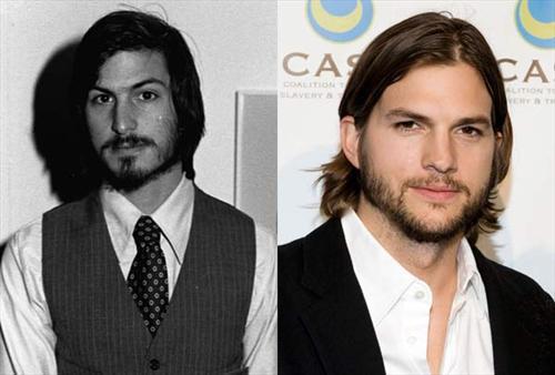 Ashton Kutcher靠脸抢头香 银幕扮Steve Jobs