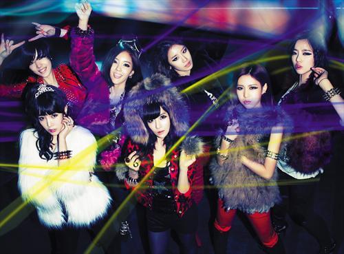 T-ARA10月3日来马办演唱会!