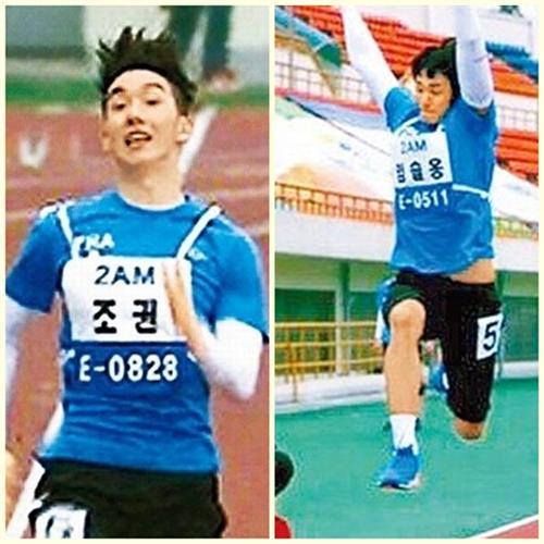 2AM赵权偶像奥运会飙快腿 擒百尺短跑王