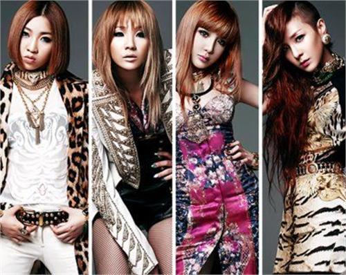 2NE1推新单曲 Dara鬼剃头超杀睛