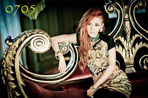 2NE1公开新曲 Sandara造型柔美彪悍参半