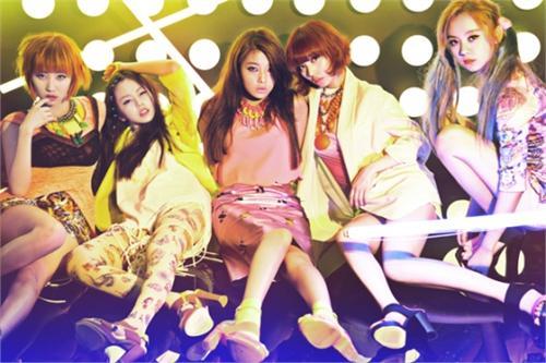 Wonder Girls先艺 开车像野兽